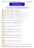 Toán cơ bản và nâng cao 11: Nhị thức Niu Tơn phần 1