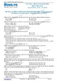 Chuyên đề luyện thi đại học môn Hóa học: Căn bản - Phản ứng este hóa, điều chế este