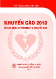 Khuyến cáo 2010 về các bệnh lý tim mạch và chuyển hóa - Hội tim mạch học Việt Nam