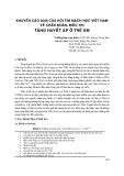 Khuyến cáo 2008 của Hội tim mạch học Việt Nam về chẩn đoán, điều trị tăng huyết áp ở trẻ em