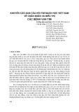 Khuyến cáo 2008 của Hội tim mạch học Việt Nam về chuẩn đoán và điều trị bệnh van tim