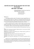 Khuyến cáo 2008 của Hội tim mạch học Việt Nam về chỉ định đặt máy tạo nhịp