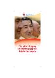 Các yếu tố nguy cơ thường gặp của bệnh tim mạch - Hội tim mạch Quốc gia Việt Nam