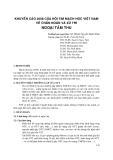 Khuyến cáo 2008 của Hội tim mạch học Việt Nam về chẩn đoán và xử trí ngoại tâm thu