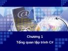 Bài giảng Kỹ thuật lập trình - Chương 1