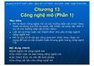 Bài giảng Cơ sở kỹ thuật y sinh: Chương 13 - TS. Huỳnh Quang Linh