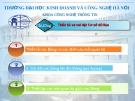 Bài giảng Microsoft access 2010: Chương 2 - ĐH Kinh doanh Công nghệ Hà Nội