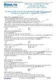 Chuyên đề LTĐH môn Hóa học: Nâng cao-Lý thuyết về lipit-chất béo-xà phòng