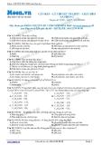 Chuyên đề LTĐH môn Hóa học: Căn bản-Lý thuyết về lipit-chất béo-xà phòng