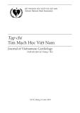 Tạp chí Tim mạch học Việt Nam: Số 52