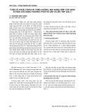 Báo cáo Kết cấu - Công nghệ xây dựng: Toán vỏ thoải cong hai chiều dương, mặt bằng hình chữ nhật kê bốn góc bằng phương pháp số xấp xỉ liên tiếp (XXLT)