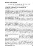 Báo cáo Vật liệu xây dựng - Môi trường: Tái chế xỉ thép lò hồ quang điện làm thành phần phụ gia khoáng xi - măng