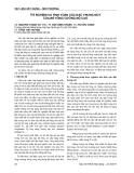 Báo cáo Vật liệu xây dựng - Môi trường: Thí nghiệm và tính toán các đặc trưng nứt của bê tông cường độ cao