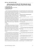 Báo cáo Kết cấu - Công nghệ xây dựng: Ứng xử của cọc bê tông cốt thép trong kết cấu kè bảo vệ bờ sông khu vực quận 2 thành phố Hồ Chí Minh