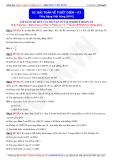 Toán học lớp 11: Bài toán về thiết diện (Phần 2) - Thầy Đặng Việt Hùng