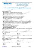Chuyên đề LTĐH môn Hóa học: Căn bản-Chỉ số của chất béo xà phòng hóa chất béo