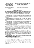 Thông tư liên tịch Số: 17/2012/TTLT-BKHCN
