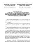 Thông tư liên tịch Số: 36/2011/TTLT/ BKHCN-BTC-BNV