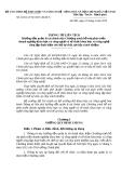 Thông tư liên tịch Số: 49/2014/TTLT-BTC-BKHCN