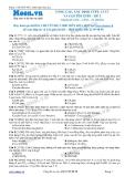 Chuyên đề LTĐH môn Hóa học: Nâng cao-Xác định CTPT, CTCT và gọi tên este (Đề 2)