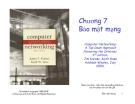 Bài giảng Mạng máy tính: Chương 7 - J.F Kurose &  K.W. Ross