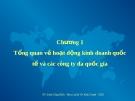 Bài giảng Chương 1: Tổng quan về hoạt động kinh doanh quốc tế và các công ty đa quốc gia - Đinh Công Khải