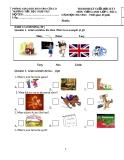 Đề thi định kỳ cuối học kỳ I môn Tiếng Anh lớp 5