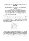 Báo cáo khoa học: Một số phương pháp hiệu chỉnh góc nghiêng của ảnh và ứng dụng