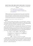 Báo cáo khoa học: Một kỹ thuật phát hiện, bám sát đối tượng và ứng dụng