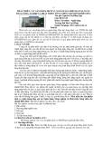 Báo cáo khoa học: Phát triển các sản phẩm dịch vụ ngân hàng hiện đại tại Ngân hàng Nông nghiệp và Phát triển nông thôn chi nhánh Biên Hòa