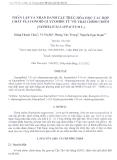 Báo cáo khoa học: Phân lập và nhận danh cấu trúc hóa học các hợp chất Flavonoid glycoside từ vỏ trái chôm chôm