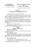 Thông tư Số: 53 /2013/TT- BNNPTNT