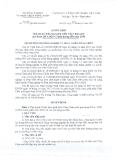 Quyết định Số: 113/QĐ-BNN-KHCN