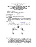 Đề thi tốt nghiệp Cao đẳng Nghề khóa I (2007 - 2010) môn Quản trị mạng máy tính: Đề thi lý thuyết số 11