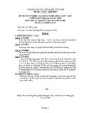 Đề thi tốt nghiệp Cao đẳng Nghề khóa I (2007 - 2010) môn Quản trị mạng máy tính: Đề thi lý thuyết số 10