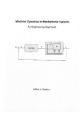Ebook Machine Dynamics in Mechatronic Systems - Adrian M. Rankers
