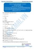 Toán 12: Khoảng đồng biến nghịch biến của hàm số (Bài tập tự luyện) - GV. Lê Bá Trần Phương