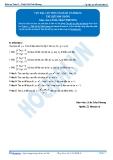 Toán 12: Cực đại, cực tiểu của hàm số-P2 (Tài liệu bài giảng) - GV. Lê Bá Trần Phương