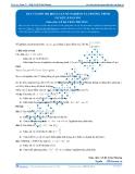 Toán 12: Dựa vào đồ thị biện luận số nghiệm của phương trình (Tài liệu bài giảng) - GV. Lê Bá Trần Phương