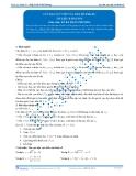 Toán 12: Cực đại, cực tiểu của hàm số-P1 (Tài liệu bài giảng) - GV. Lê Bá Trần Phương