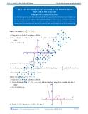 Toán 12: Dựa vào đồ thị biện luận số nghiệm của phương trình (Đáp án Bài tập tự luyện) - GV. Lê Bá Trần Phương