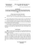 Quyết định số 41/2012/QĐ-UBND tỉnh Vĩnh Phúc