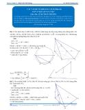 Toán 12: Các vấn đề về khoảng cách-P4 (Đáp án Bài tập tự luyện) - GV. Lê Bá Trần Phương