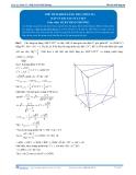 Toán 12: Thể tích khối lăng trụ-P1 (Đáp án Bài tập tự luyện) - GV. Lê Bá Trần Phương