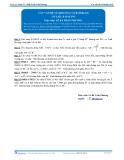 Toán 12: Các vấn đề về khoảng cách-P4 (Tài liệu bài giảng) - GV. Lê Bá Trần Phương