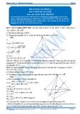 Toán 12: Mặt cầu-P1 (Đáp án Bài tập tự luyện) - GV. Lê Bá Trần Phương