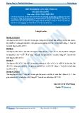 Toán 12: Thể tích khối lăng trụ-P2 (Tài liệu bài giảng) - GV. Lê Bá Trần Phương