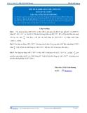 Toán 12: Thể tích khối lăng trụ-P1 (Bài tập tự luyện) - GV. Lê Bá Trần Phương