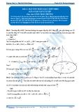 Toán 12: Mặt nón tròn xoay-P2 (Đáp án Bài tập tự luyện) - GV. Lê Bá Trần Phương