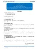 Toán 12: Thể tích khối lăng trụ-P1 (Tài liệu bài giảng) - GV. Lê Bá Trần Phương